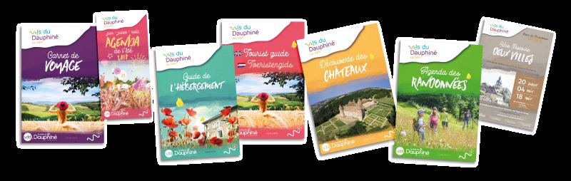 identité visuelle brochures